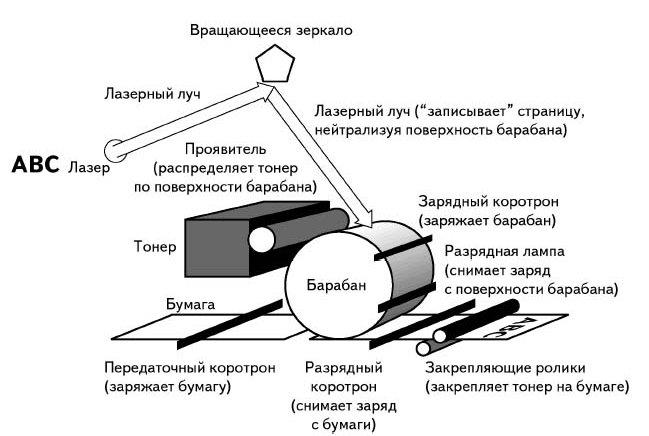 """Результат пошуку зображень за запитом """"лазерный принтер Перенос на бумагу"""""""