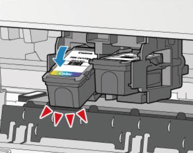 Извлечение старого картриджа с принтера